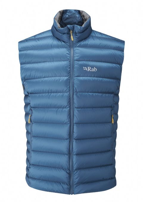 Rab Mens Electron Down Vest - Warm - Lightweight